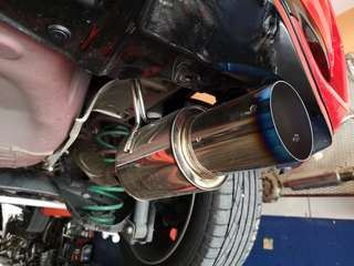 HKS Hi Power Full Exhaust System for Jazz GK CVT