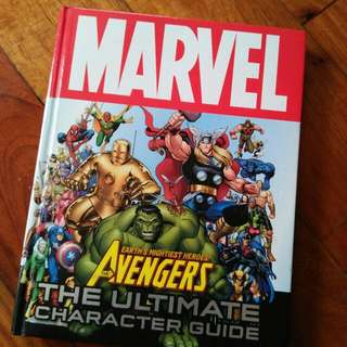 Marvel: The Ultimate Guidebook
