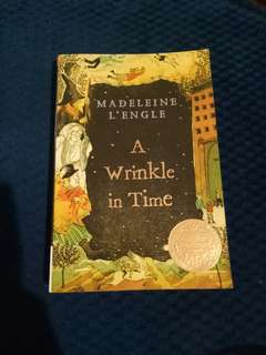 A Wrinkle in Time by Madeleine L' Engle