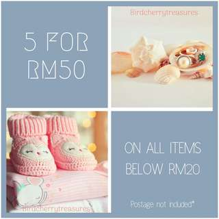 🌟SALE🌟5 for RM50🌟