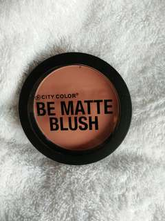 Blush on matte CITY COLOR
