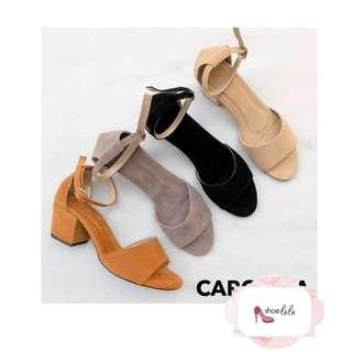 Carolina Block Heels