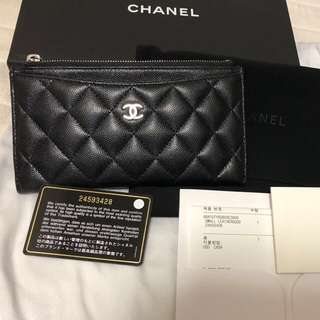Chanel long wallet 長銀包