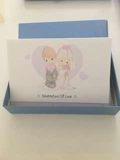 🚚 Precious Moments Wedding/ROM invites