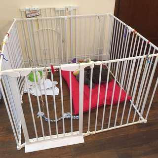 Metal Dog / Pet gate, 狗仔 /寵物金屬圍欄 75cm x 58-60 cm x 4pc