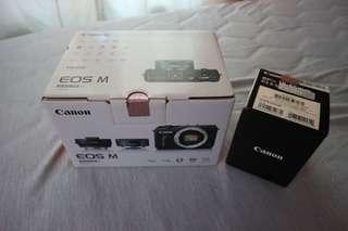 Canon EOSM 雙鏡組 公司貨