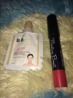 Lipblam & bb cream
