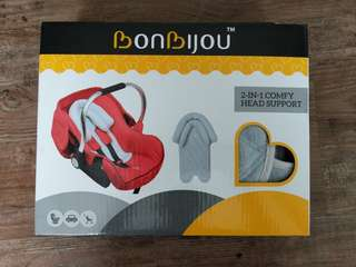 Head support for car seats