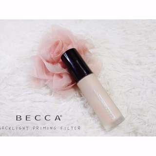 ✨ CLEARANCE INSTOCK SALE: BECCA Backlight Priming Filter in Radiant Finish