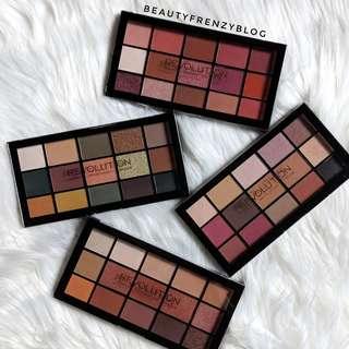❄️ Makeup Revolution ❄️ Re-Loaded Palette