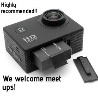 🚚 PERFECT FOR YOUR NEXT HOLIDAY!! Get an action cam to record your memories in Bali or Phuket now!!!