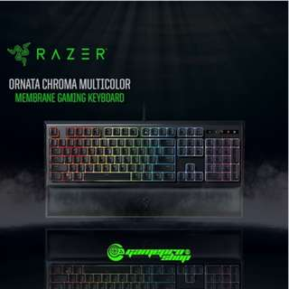 RAZER ORNATA Chroma Mechanical Membrane Keyboard. Mid-Height Keycaps for Faster Actuations / 16.8 Mi