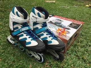 Inline skate sepatu roda merk LA sport