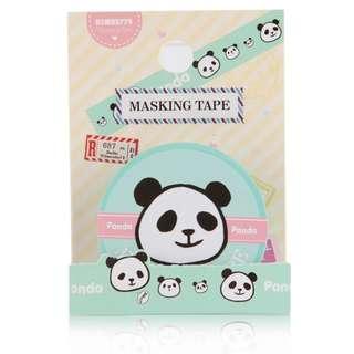 🚚 Kawaii panda masking tape Shiny paper washi tapes