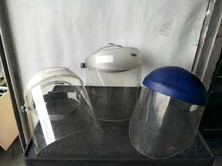 Safety / Face Cover Helmet for sale (3 pcs) @$10 Each@A3/3