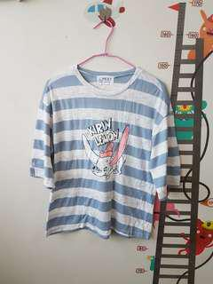 🚚 韓國小飛象條紋上衣
