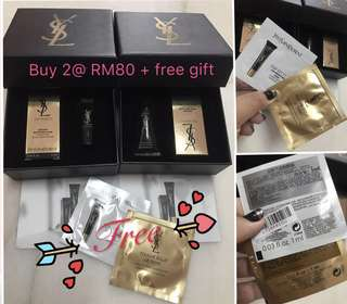YSL top secret sample gift set