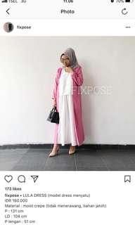 Lula Dress Pink @fixpose - Pink