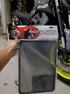 R&G Radiator Guard Installed for MT-09 2017 @ 20th July 2018