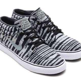 Janoski Mid PRM Zebra