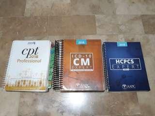 ICD-10-CM, CPT, HCPCS
