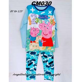 (Nett Price) Peppa and George Sleepwear CM030