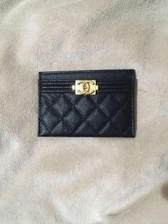 🚚 Chanel 證件卡夾 短夾 淡金釦 錢包