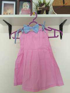 Dress katun usia 5-9 bulan