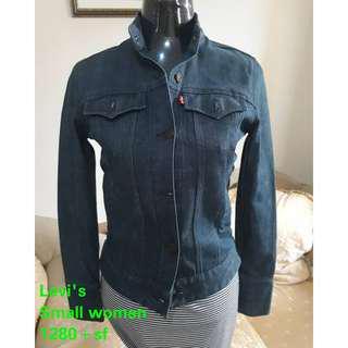 Original Levi's demim jacket not nike not adidas