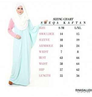 Rina Salleh Clothing - Sheqa Kaftan