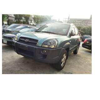2005年   現代   Tucson 灰 ✅0頭款 ✅免保人✅低利率✅低月付 FB搜尋:阿源 嚴選二手車/中古車買賣