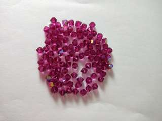 4mm Genuine Swarovski Bicone 5301 Crystal