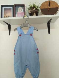 Jumpsuit perempuan usia 5-8 bulan