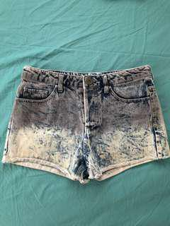 Tie Dyed Shorts