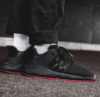 release date 3cfe7 43648 SALE 🔥 Adidas EQT SUPPORT 93  17 bred black