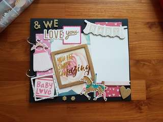 Baby Girl's Baby Shower Guestbook