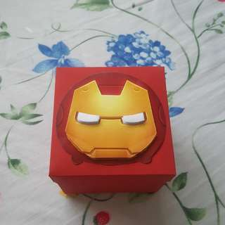 Iron man explosion box