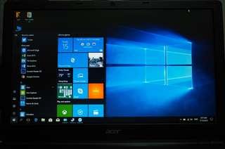Acer i5 15.6吋 notebook 送2年nod防毒license