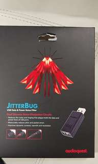 Audio quest jitterbug for audiophile