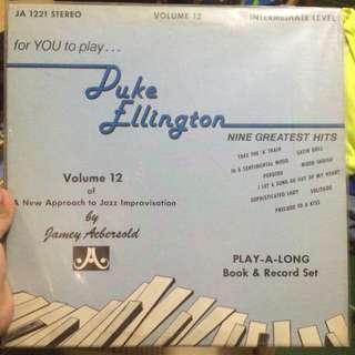 Duke Ellington Plaka LP Vinyl Records
