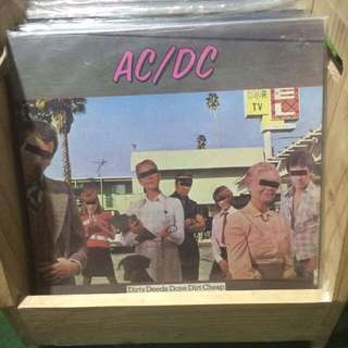 AC DC Plaka LP vinyl records
