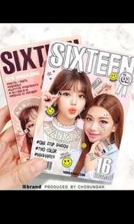 Sixteen Brand Make up