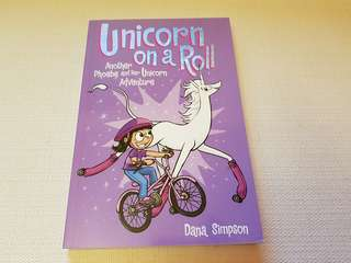 Children's Story Book - Unicorn on a Roll Another Phoebe and Her Unicorn Adventure