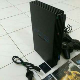 Playstation 2 Fat Black