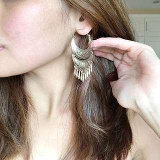 Forever 21 Gold Dangling Earrings