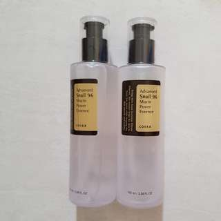 Restock Cosrx Advance Snail 96 Mucin Power Essence 15 ml + botol asli