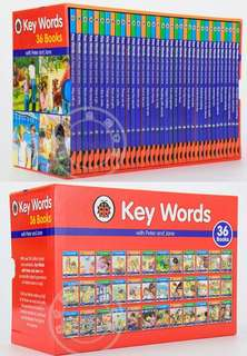 36x Full Complete Set Peter and Jane Key Words Educational Phonics Books