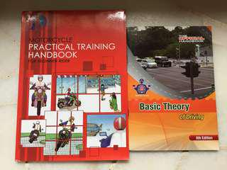 Motorbike theory book