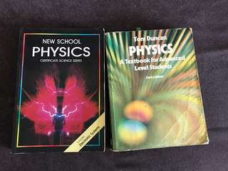 Physics textbook for A level and higher