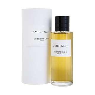 Parfum Original Christian Dior Ambre Nuit